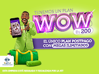 Viva - Plan WOW, Plan postpago megas ilimitados
