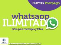 Whatsapp Ilimitado postpago