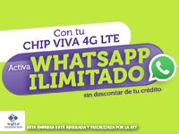 Viva - Whatsapp ilimitado Julio