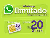 Whatsapp ilimitado